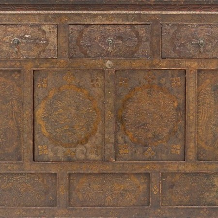 Intircately carved Wooden Cabinets by Ashley Van Haeften on flickr