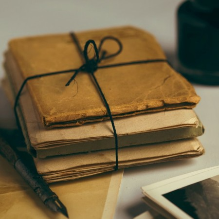 Old notebooks by joanna kosinska on unsplash