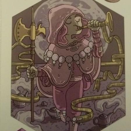 Herald among genie lamps - Storyteller Card